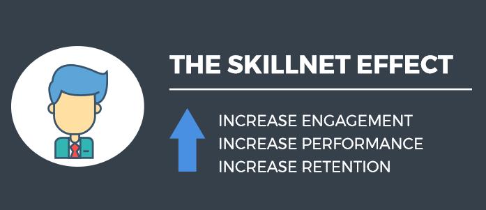 The SkillNet Effect Infographic